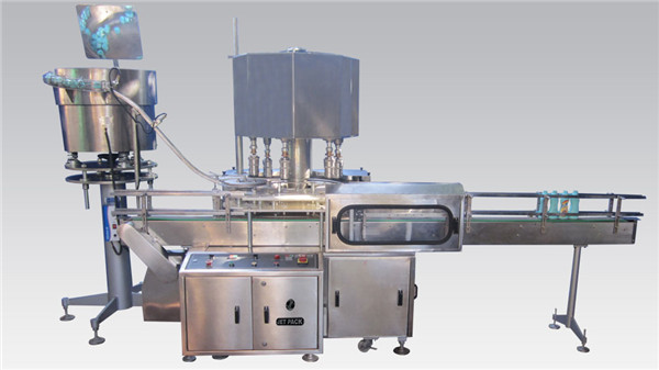 Rotary Cosmetic Filling and Capping Machine