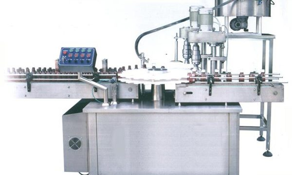 Tomato Sos Rotary Filling Capping Machine