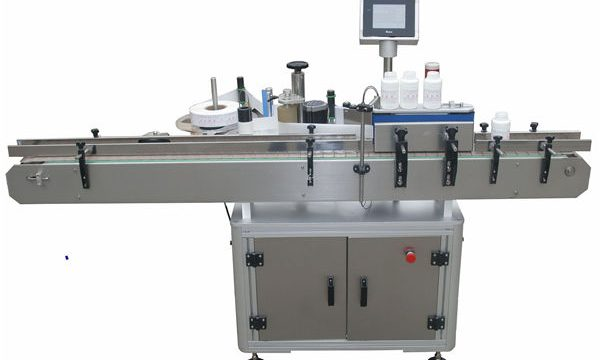 Double côtés automatiques Llabeling Mmachine pour la bouteille en verre en plastique d'animal familier