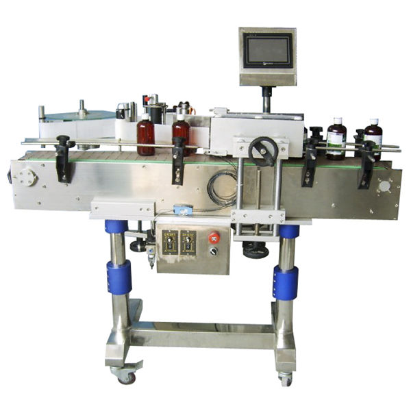 Automatic Round Bottle Sticker Labeling Machine For Cans