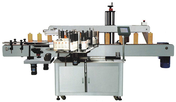 Etiketovací stroj na kulaté láhve