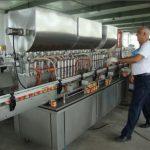 200-1000ml 자동 간장 충전물 기계