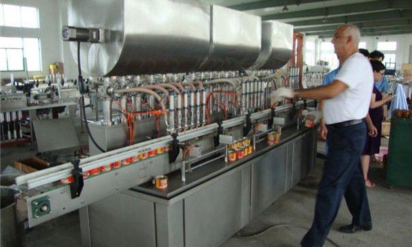 Machine de remplissage automatique de sauce soja 200-1000ml