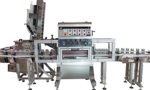 Machine de remplissage automatique de sauce chaude de pompe pneumatique