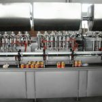 Automatisk Hot Pizza Sauce Filling Machine
