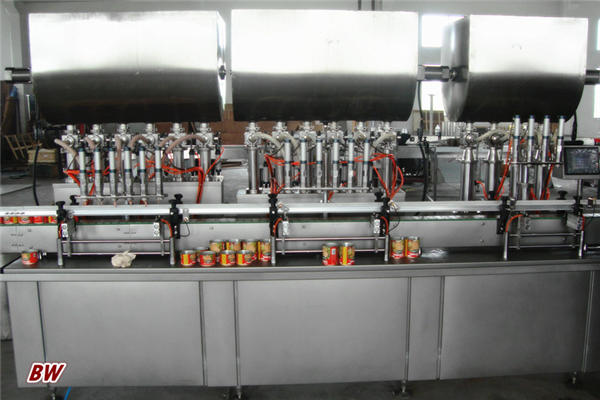 Automatic Hot Pizza Sauce Filling Machine