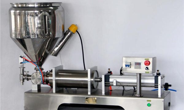 Manual Sauce Filling Machine for Cans