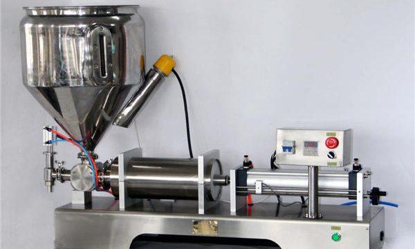 Machine manuelle de remplissage de sauce pour des boîtes