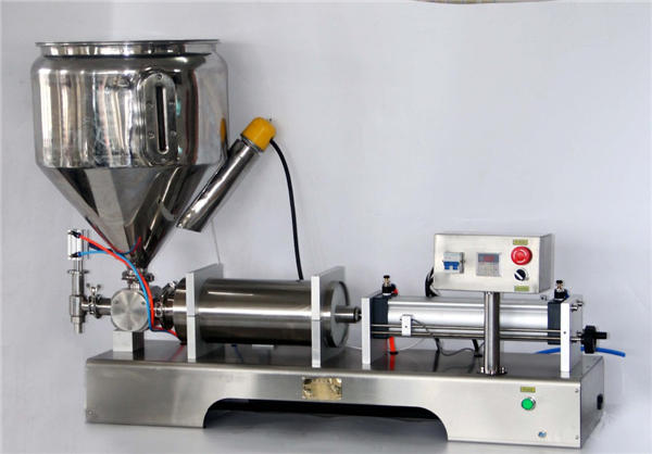 Machine de remplissage de sauce manuelle pour canettes