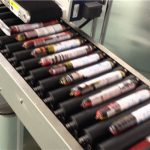 Mesin Pelabelan Sosej Automatik Dengan Penyuap