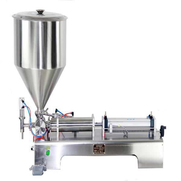 Semi-automatic piston jar cream filling machine