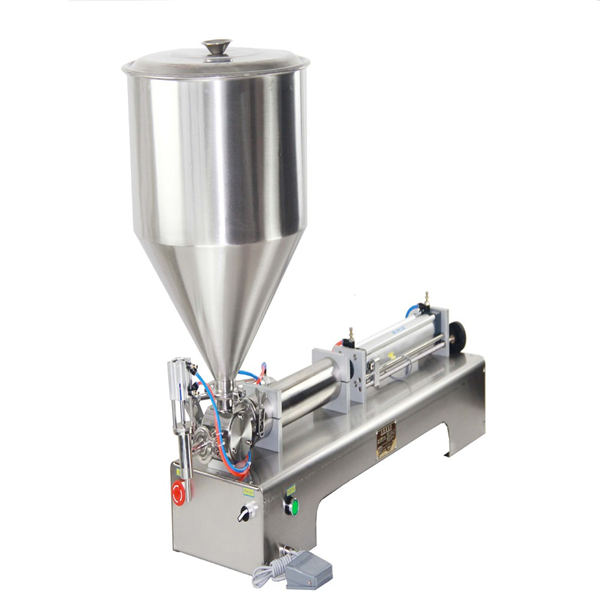 50-500ml Paste and Liquid Filling Machine for cream shampoo cosmetic tooth paste