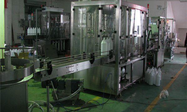 Llenadora automática del champú / máquina de rellenar del champú / línea de relleno del champú