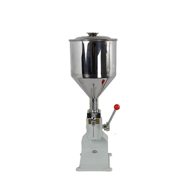 Small Hand Operated Cream Filling Machine
