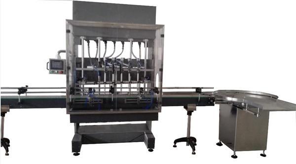 Otomatik Şişe Ağartma Makinesi Dolum Makinesi