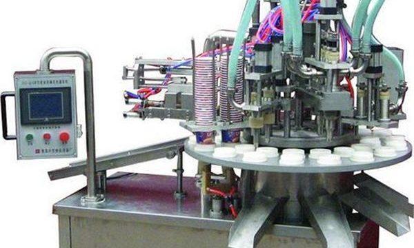 Automatický kosmetický masti / krém plnící stroj