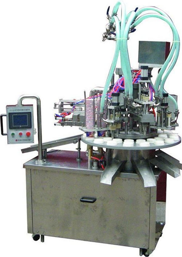 Automatic Cosmetic Ointment/Cream Filling Machine