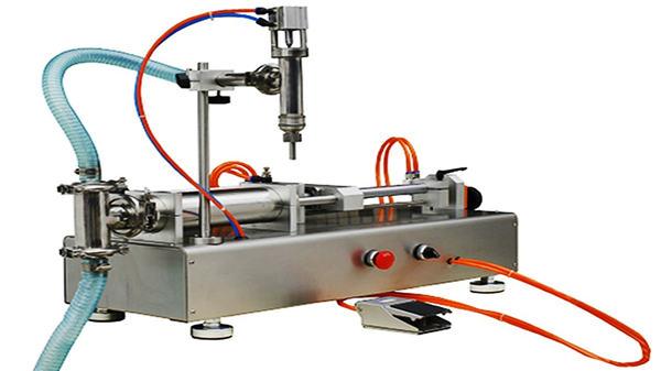 Doppelköpfe Pneumatische Cremefüllmaschine 100-1000ml