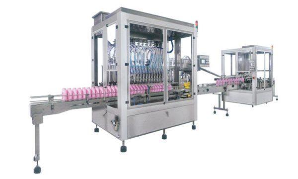 Fuldautomatisk flydende sæbe vaskemiddel shampoo fyldemaskine