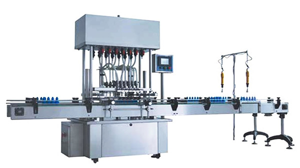 machine de remplissage liquide désinfectant