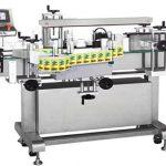 Automatisk flaskmärkningsmaskin med dubbla sidor
