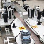 Automatisk fram- och baksida flaska burkar märkning maskin tillverkare