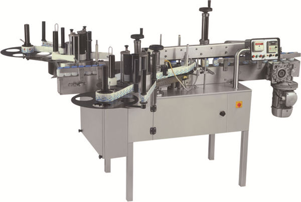 Automatic Flat Bottle Double Sides Labeling Machine