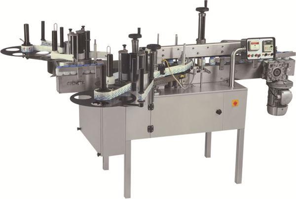 Automatic Flat Bottle Double Sides Labeling Machine