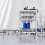 تخصيص إسدف سلسلة شنومكس-شنومكسل قدرة كبير طبل آلي تعبئة آلة