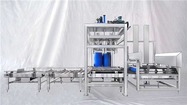 Customizable ESDF Series 100-1000L Capacity Big Drum Automatic Filling Machine
