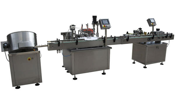 e-liquid electronic cigarette filling machine filling line