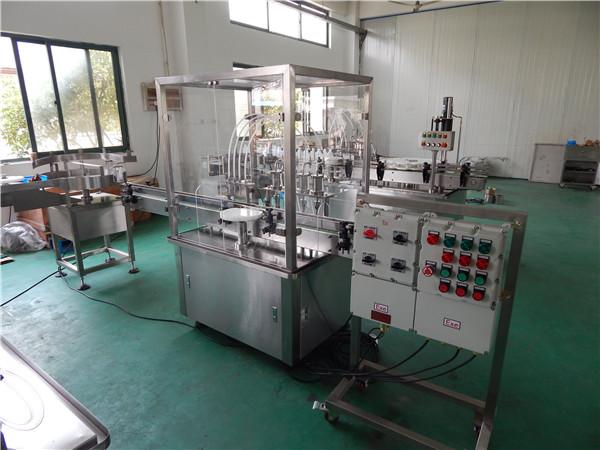 machine de remplissage liquide anti-déflagrante