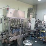 Fullautomatisk smörjoljefyllningsmaskin