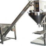 Puoliautomaattinen jauhetäyteaineen kuivajauhetäyttö