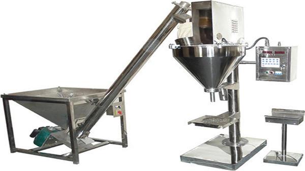 halvautomatisk pulverfyller tørt pulver fyllingsmaskin
