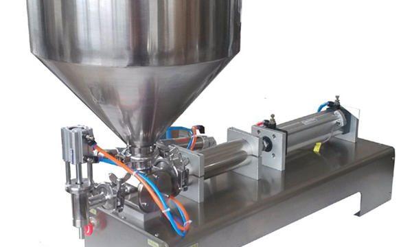 Máquina de enchimento de pasta pneumática manual de preço de fábrica