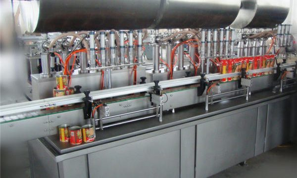 Double-Head Full-Automatic Chili Paste Mesin Pengisian