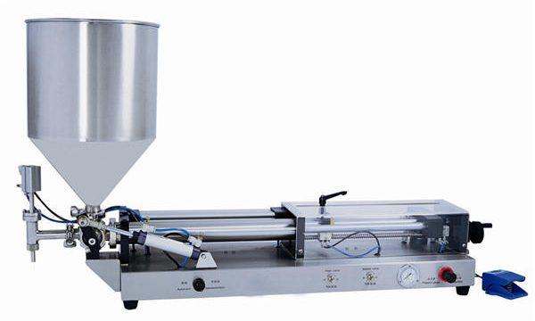 Máquina de enchimento de pasta semiautomática para 3mL-5L