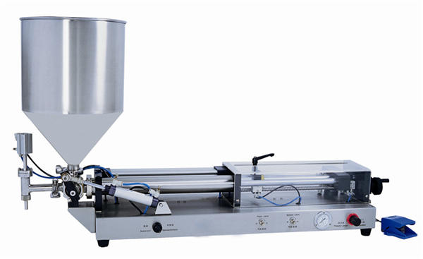 Semi-automatic Paste Filling Machine for 3mL-5L