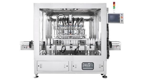 5000-8D Automatic piston filling machine