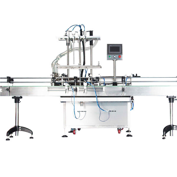 Automatisk 8, 10, 12 Heads Lotion Piston Filling Machine / Filler