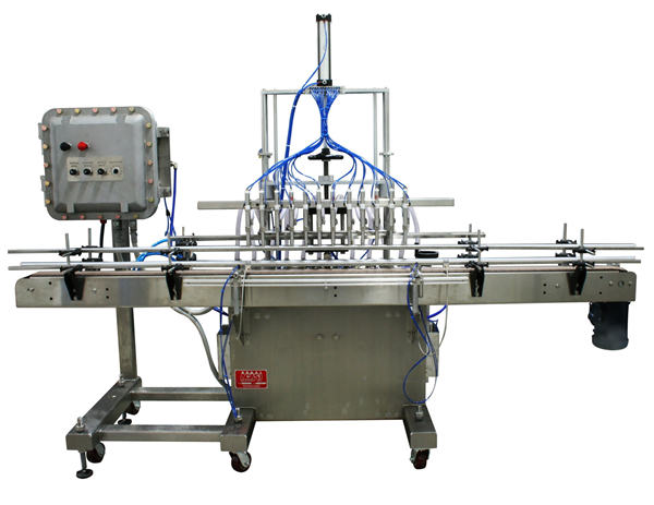 Automatic Piston Liquid Filling Machine 50ml-1L