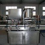 Macchina automatica di riempimento del pistone della linea diritta