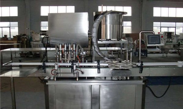 አውቶማቲክ ቀጥ ያለ ቀጥተኛ መስመር Piston Filling Machine