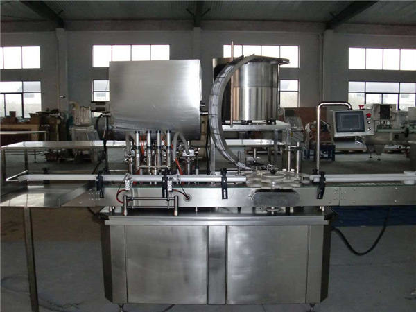Automatic Straight Line Piston Filling Machine