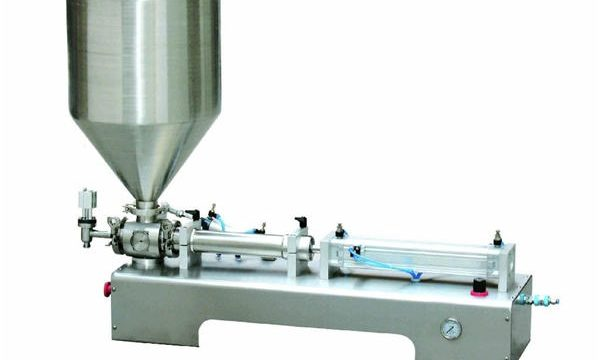 Pneumatic Piston Filling machine, Driven Cream Piston Filling Machine