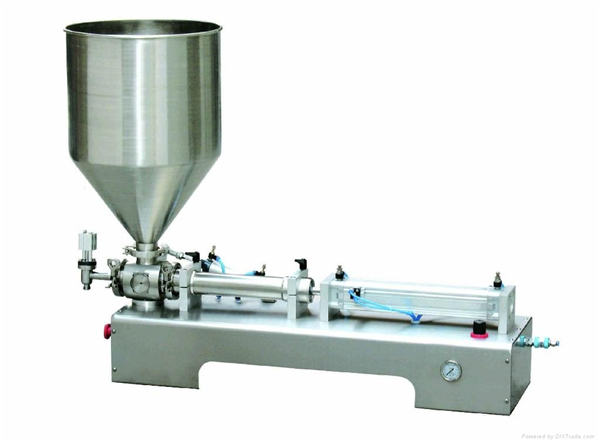 Pneumatic Piston Filling machine  ,Thick Cream Piston Filling Machine