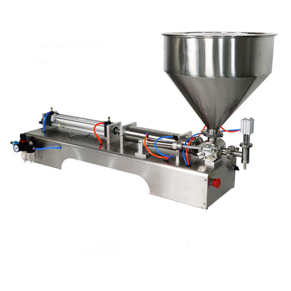 Semi-Automatic Piston Thick Sauce Filling Machine