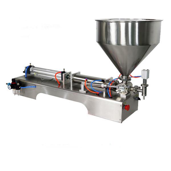 Semi-Automatic Piston Thick Sauce Filling Machine