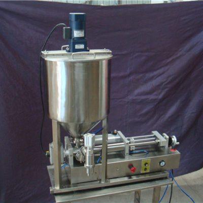 Полу-аутоматска машина за пуњење течности са 2 главе